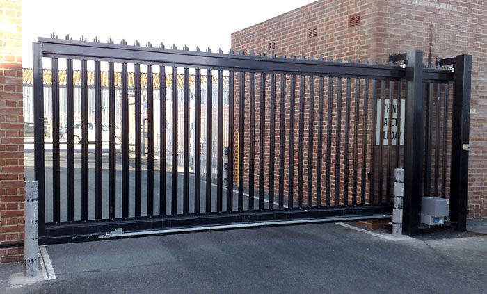 Industrial Electric Gates : Electric gates commercial